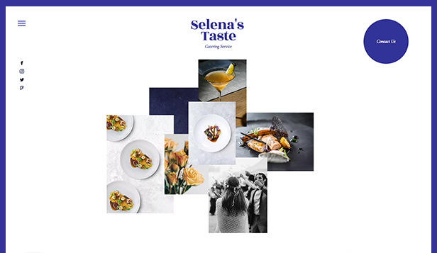 Catering  Chef Website Templates Restaurants  Food Wix