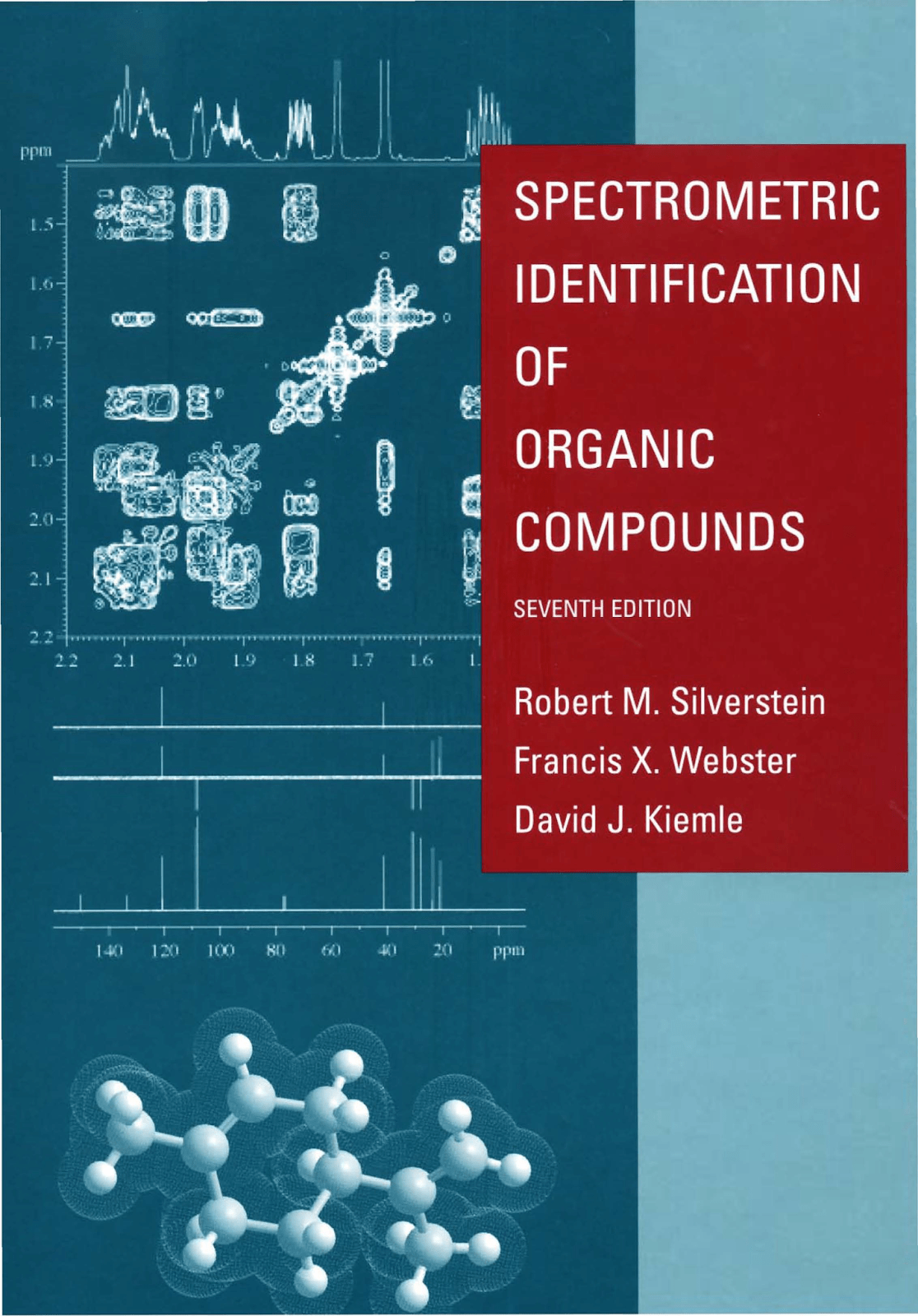 Libro Resonancia Magnetica Spectrometric Identification Of Organic Compounds R M Silverstein