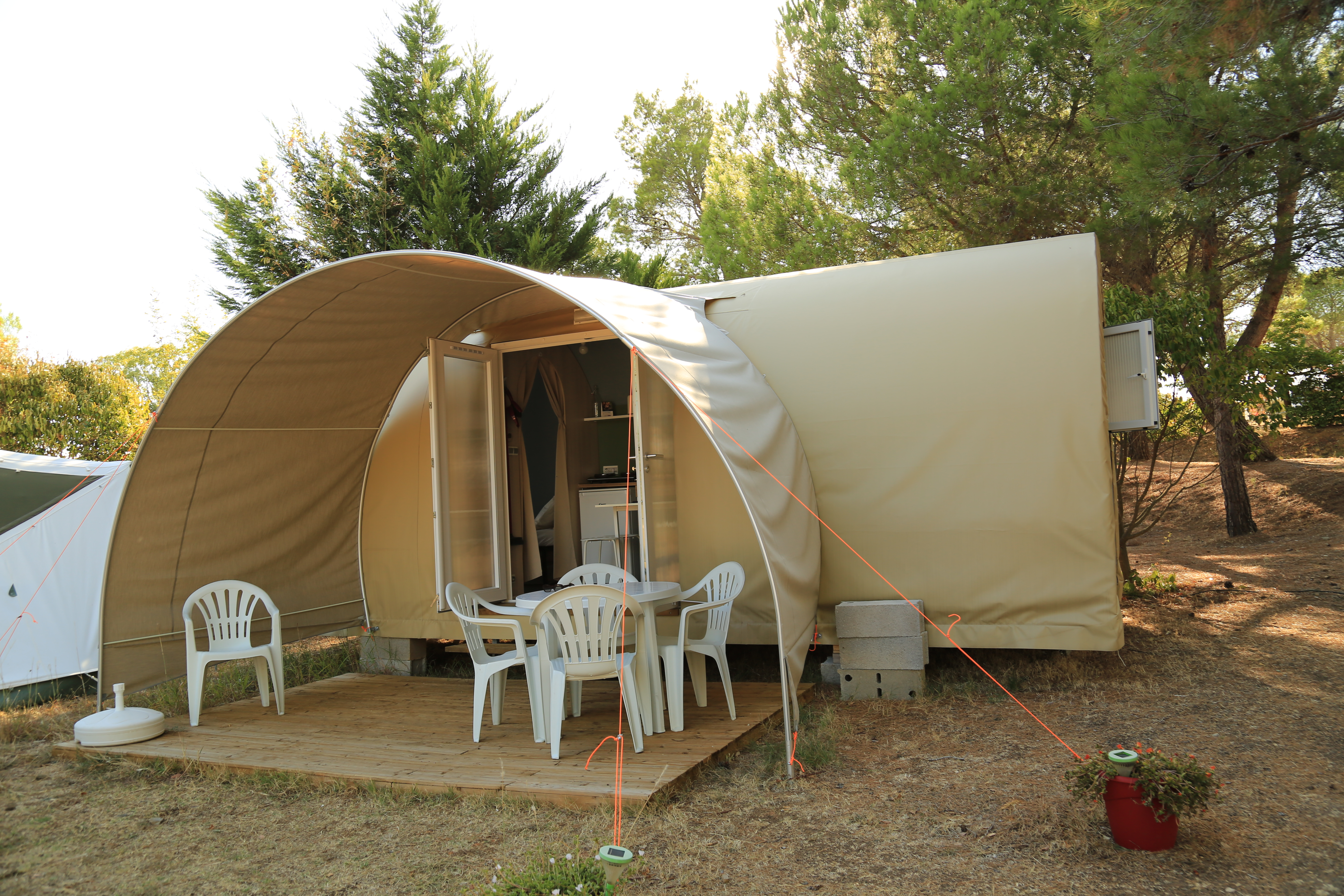 Camping Douche Batterie Les Terrasses Locations