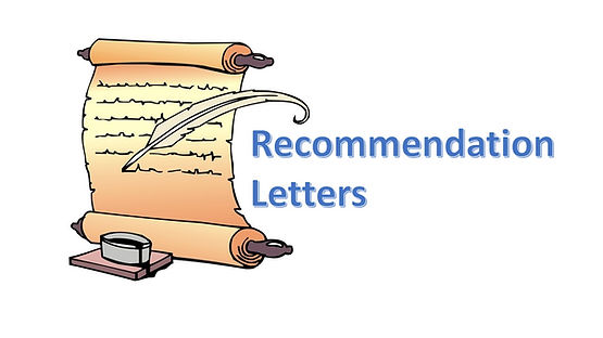 Asking for a Recommendation Letter Home Dr Terence Sim