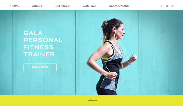 Sport  Recreation Website Templates Health  Wellness Wix - 2