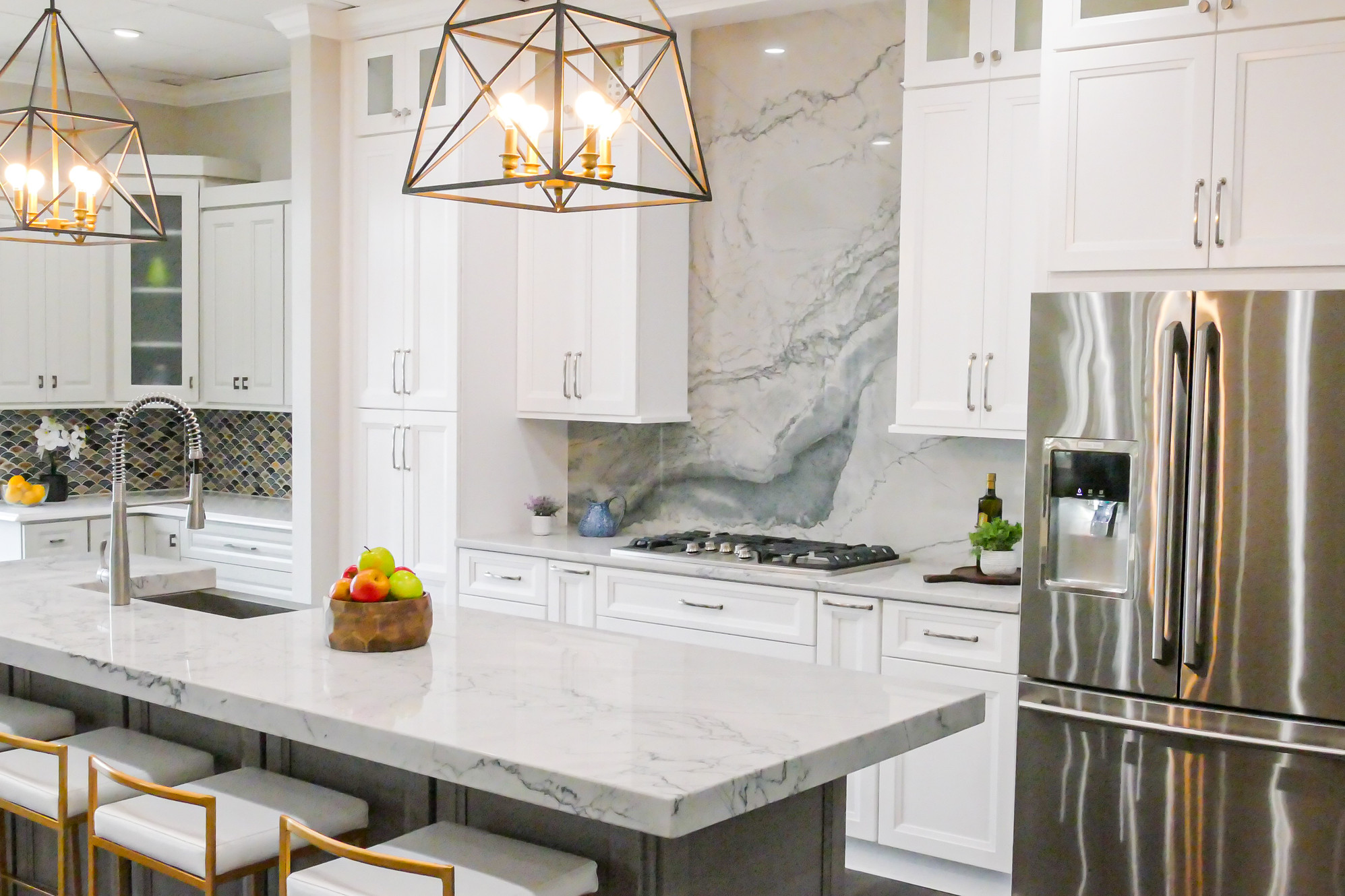 Quartz Countertops Bella Kitchen And Closets United States