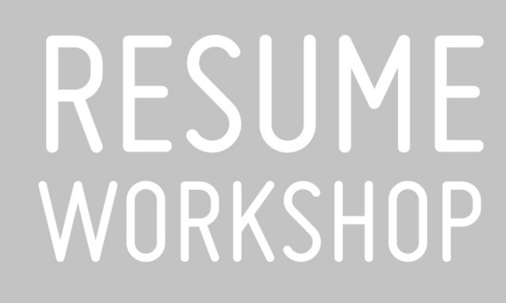 Resume Workshop November 6 University of Maryland Daily Bulletin