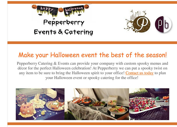 Pepperberry Catering Toronto