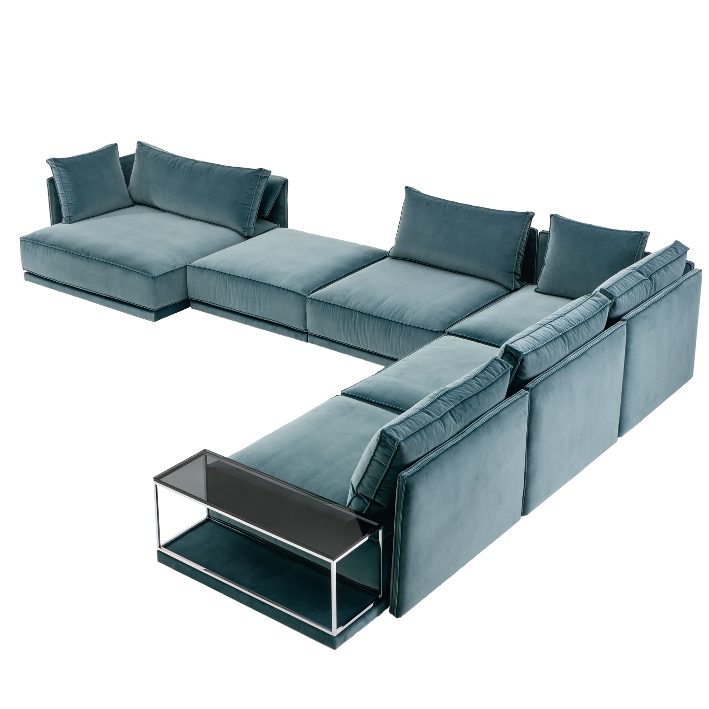 Ecksofa Baukasten Sofa 3 Ip Design Cube Lounge Sofa