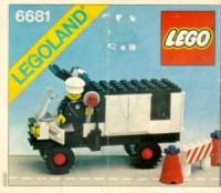 6681 Police Van - LEGO Bauanleitungen und Kataloge Bibliothek