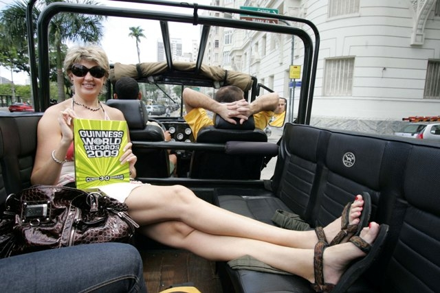 Ms Legs Meet The Russian Beauty With The World39s Longest