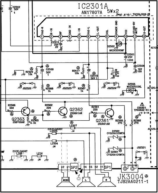 diagrama panasonic tcl32c5x