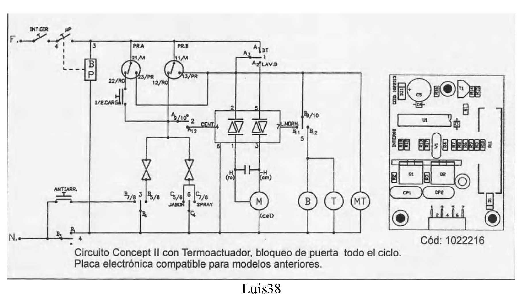 capacitor panel diagrama de cableado