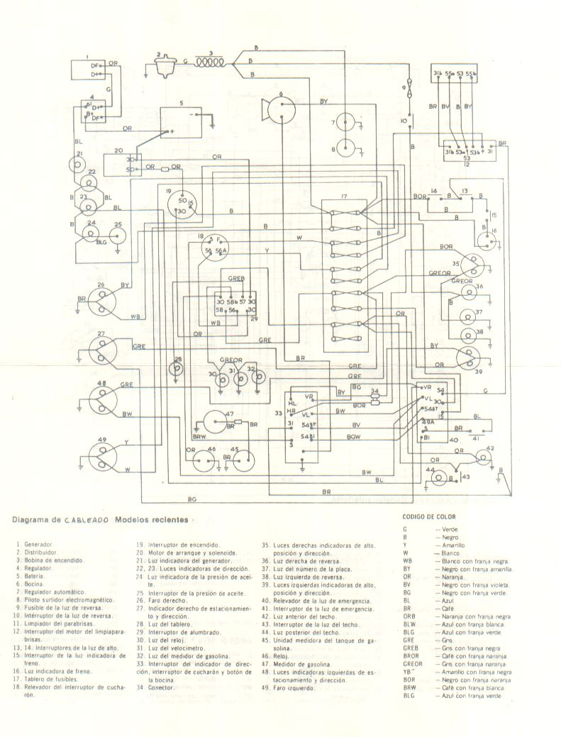 gps diagrama de cableado