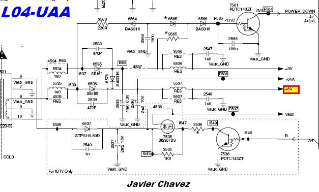 diagrama philips 29pt5645 77