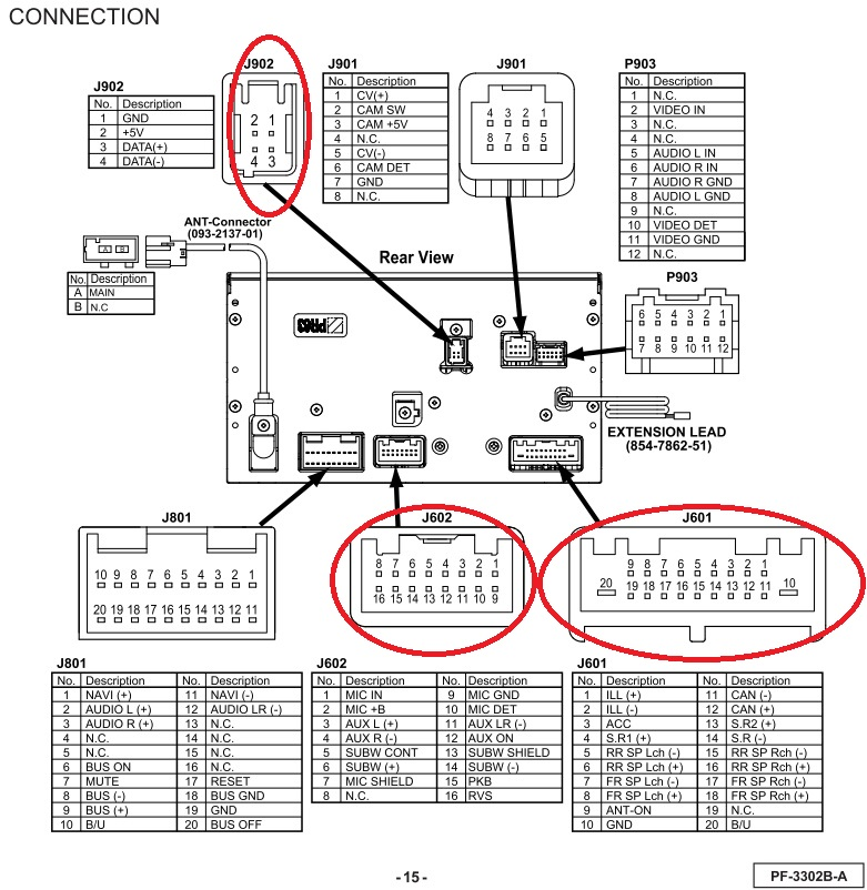 clarion stereo wiring diagram free picture schematic