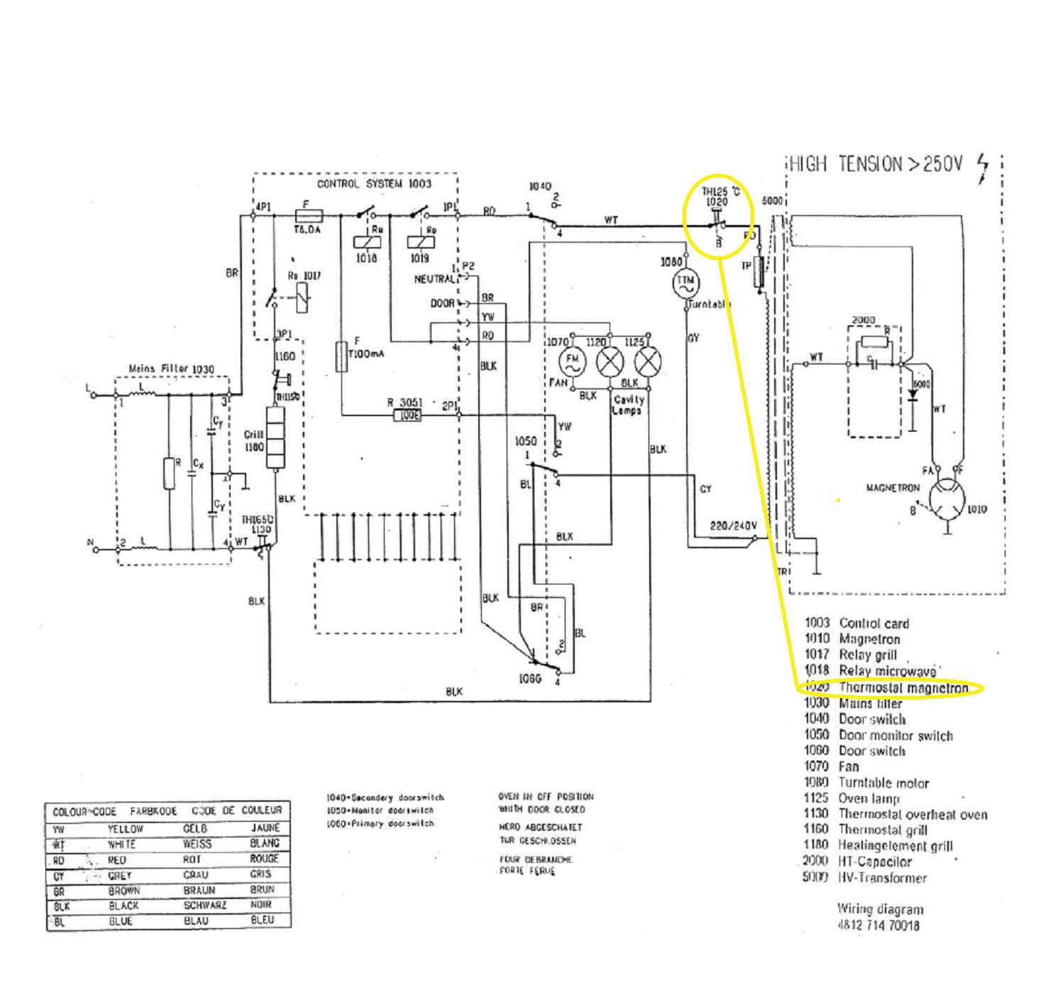 whirlpool diagrama de cableado
