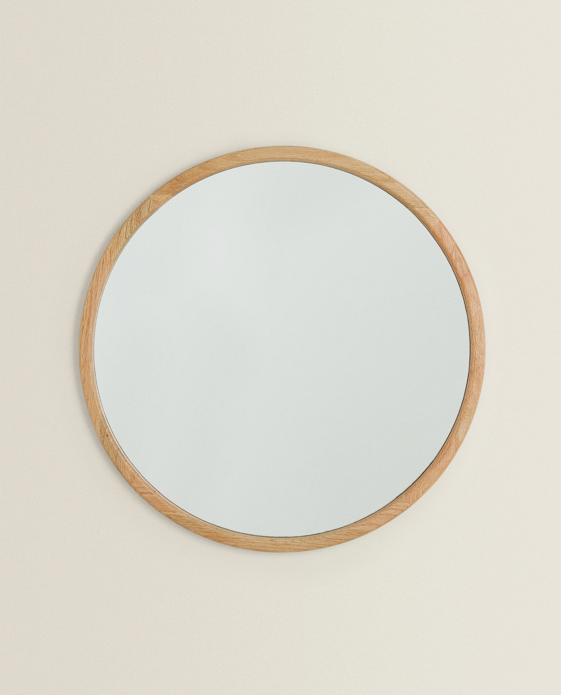 Oval Mirror Wood Frame Wooden Frame Mirror