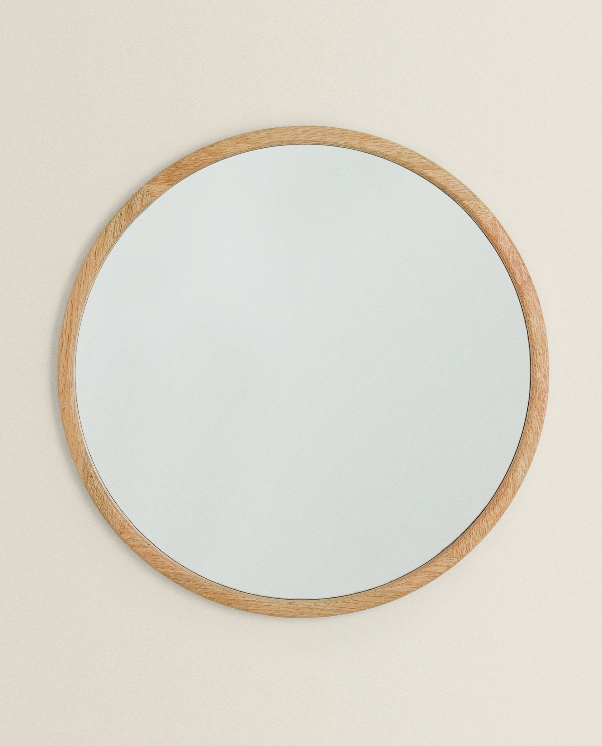 Oval Mirror Wood Frame Large Wooden Frame Mirror