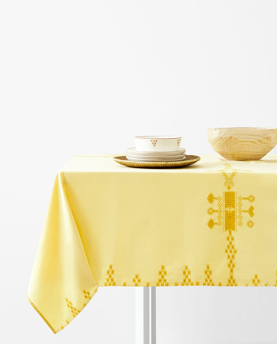 Christmas Tablecloths Australia Tablecloths Tableware Zara Home Australia