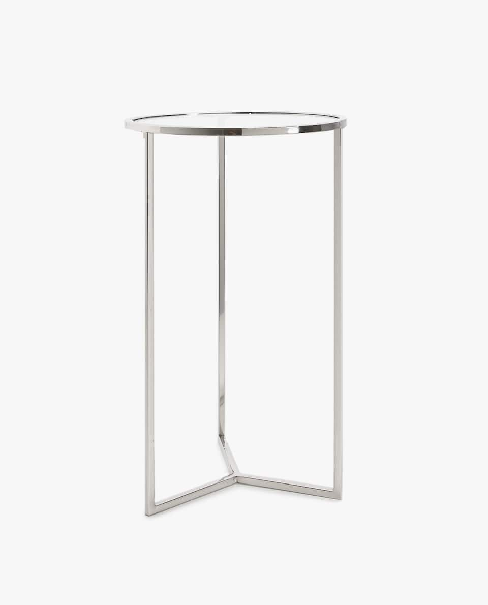 Table Appoint Verre Table D Appoint Verre