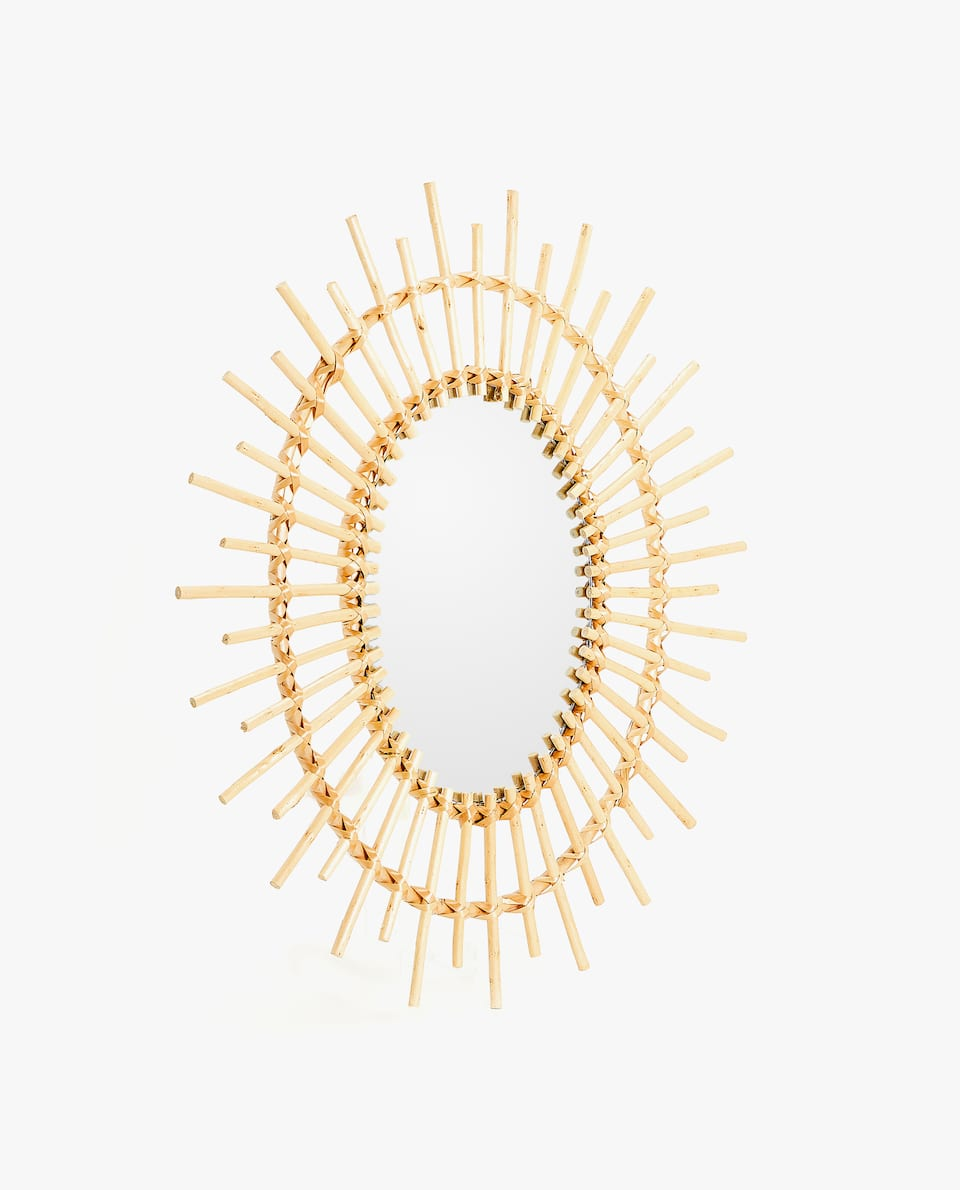 Sun Shaped Mirrors Mirrors Zara Home New Collection