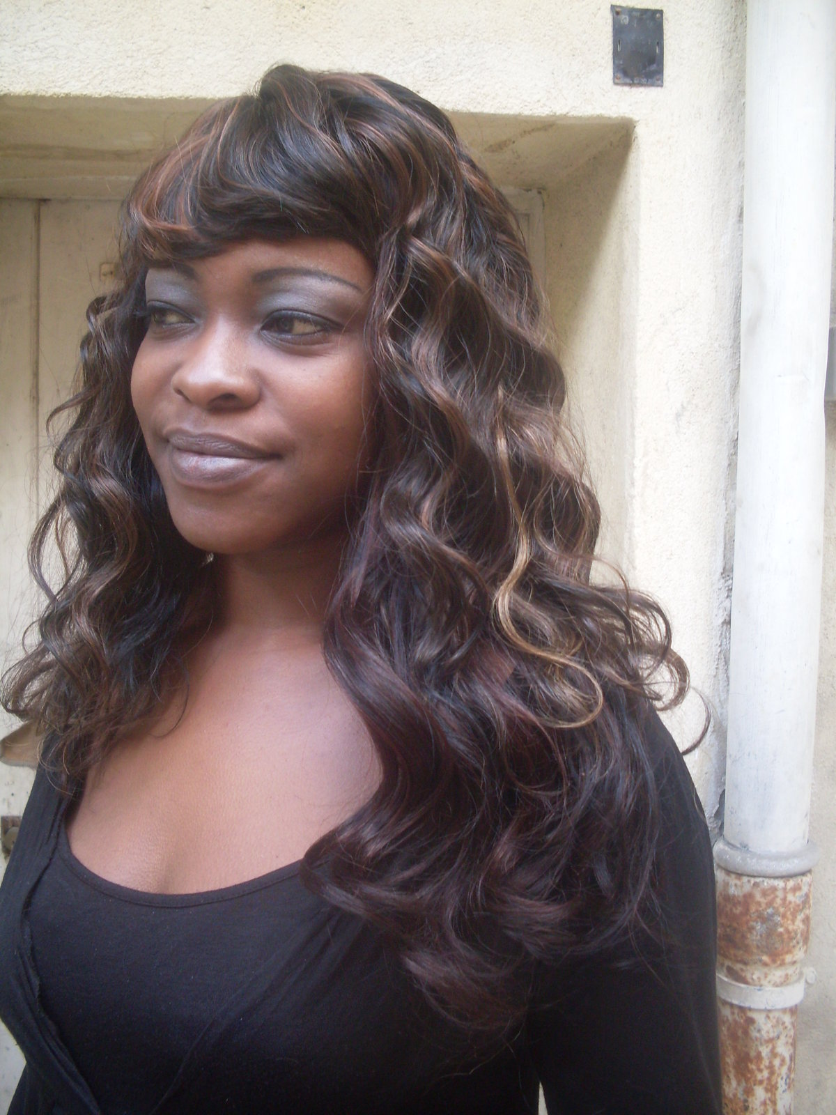 Coiffure Mariage Tissage Tissage Semi Long Idées Coiffure Afro Tresses