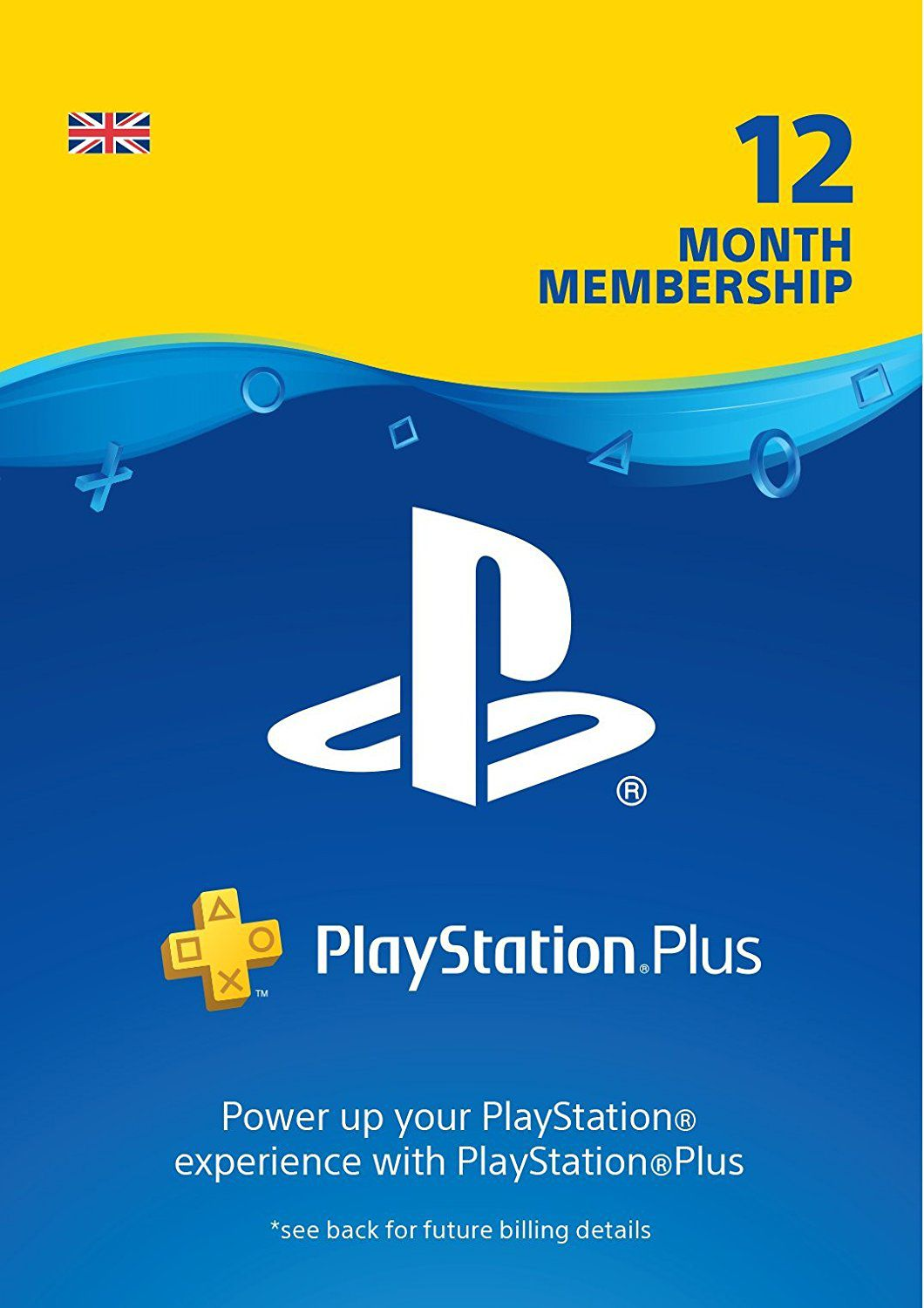 Playstation Plus 12 Meses Comprar Cartão Playstation Plus 12 Meses 1 Ano Psn Uk