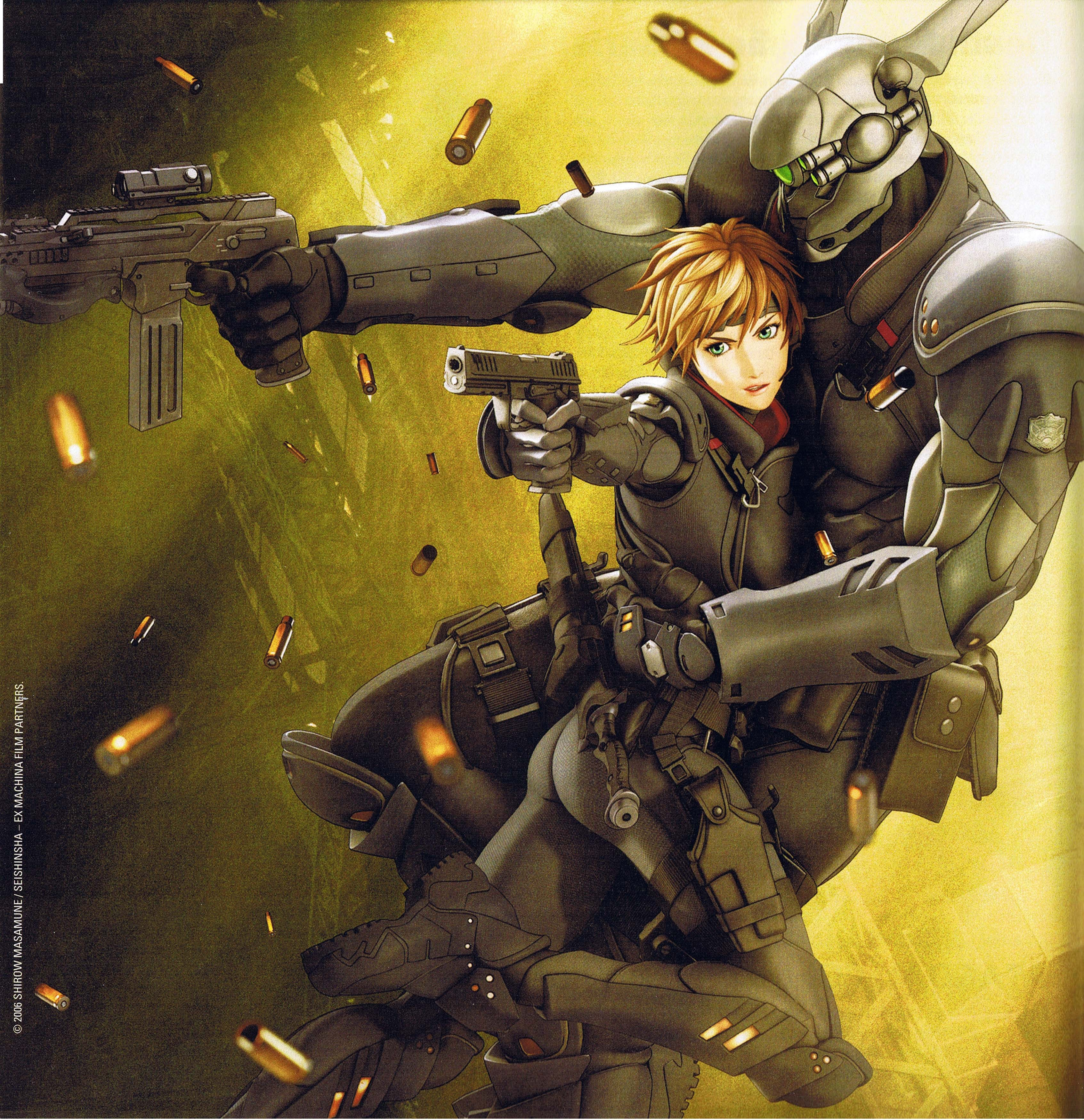 Under Armour Girl Wallpaper Briareos Hecatonchires Appleseed Zerochan Anime Image