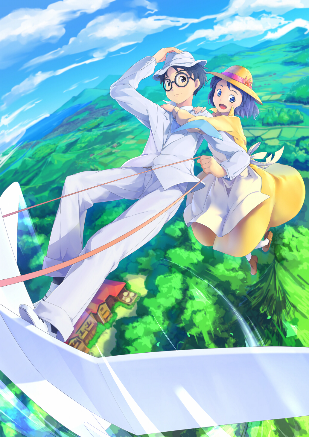 Pretty Girl Wallpaper Full Hd Kaze Tachinu The Wind Rises Zerochan Anime Image Board