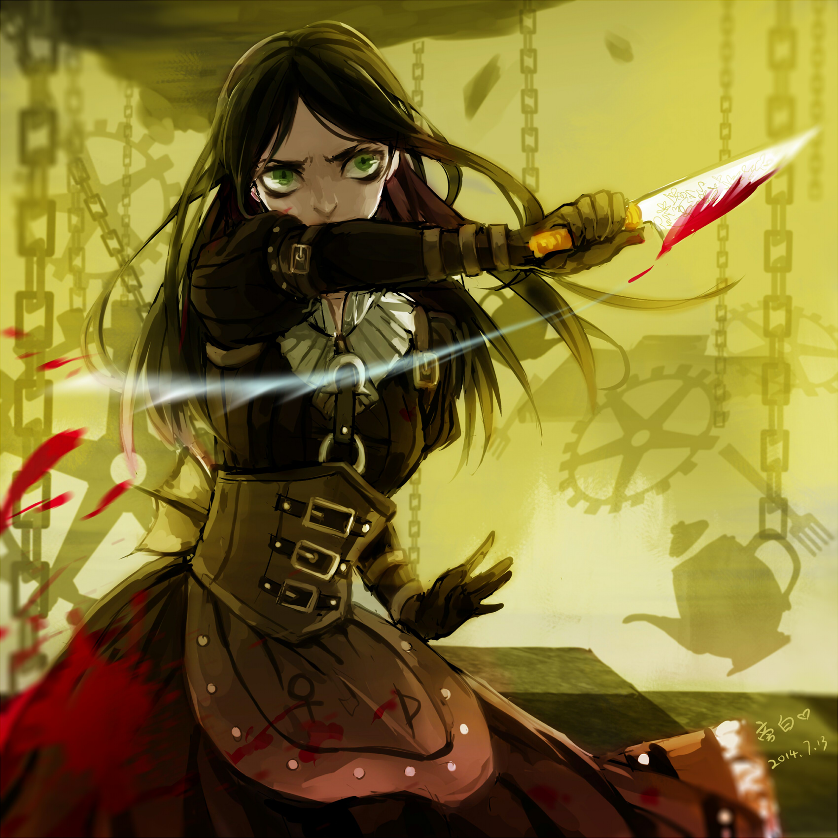 Anime Dark Angel Wallpaper American Mcgee S Alice Madness Returns Page 10 Of 20
