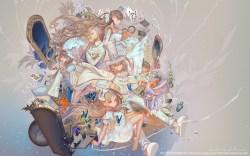 Small Of Alice In Wonderland Wallpaper