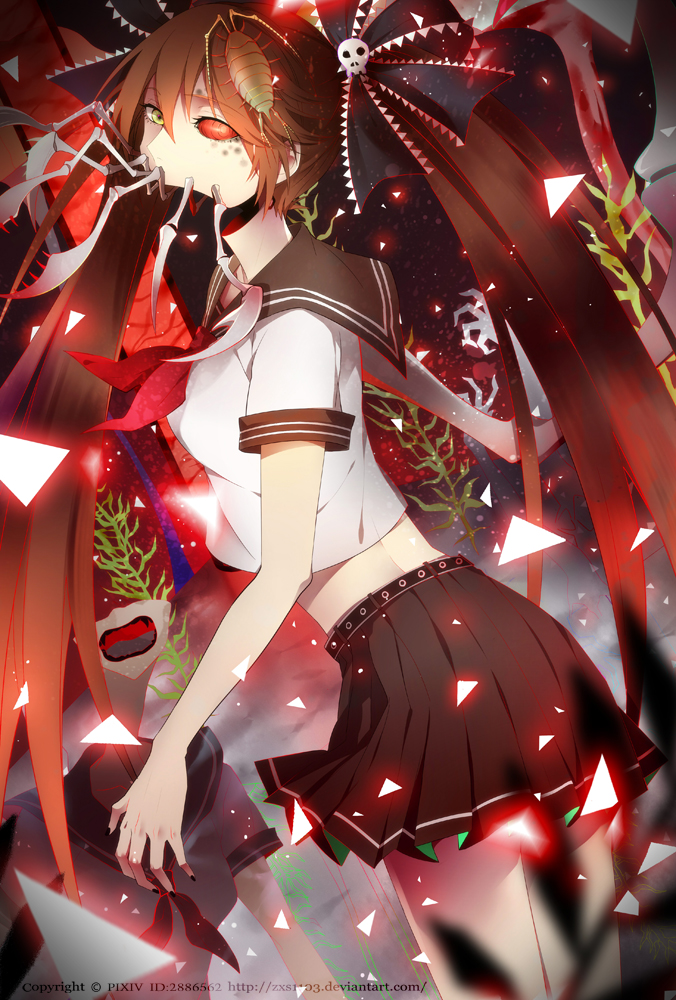 Nice Girl Wallpaper Download Bacterial Contamination 【vocaloid】 Minecraft Skin