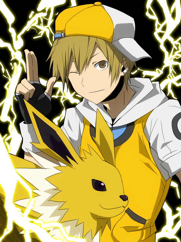 Wallpaper Anime Cute Boy Jolteon Fanart Page 2 Zerochan Anime Image Board