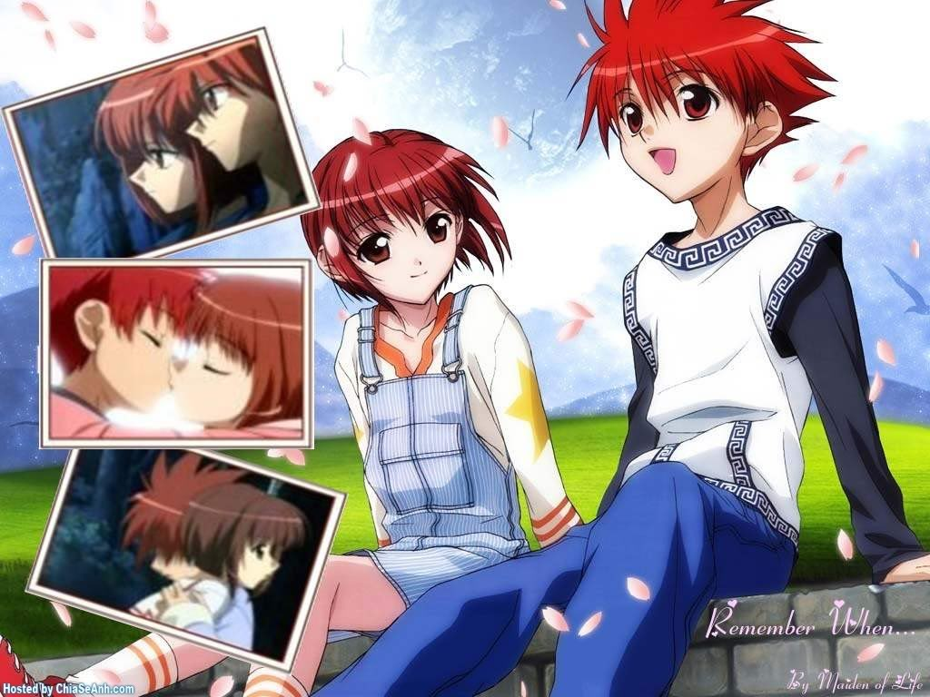 Cute Love Couple Kissing Wallpaper Harada Riku Wallpaper Zerochan Anime Image Board