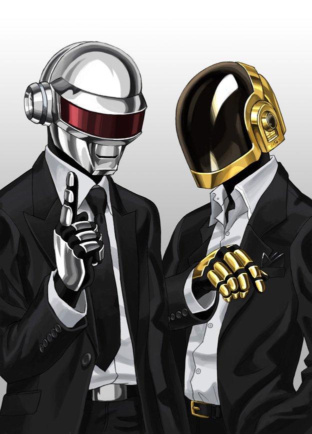 Animated Dj Wallpaper Daft Punk Band Zerochan Anime Image Board
