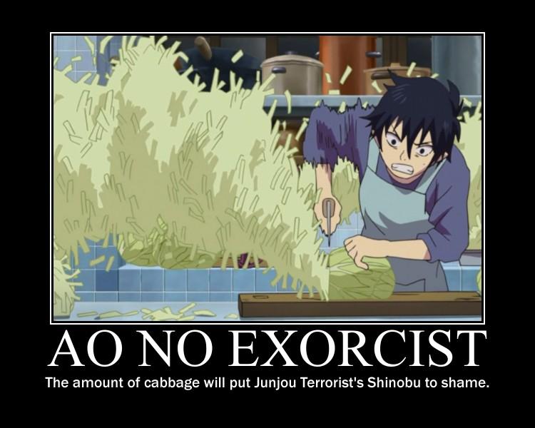 Cute K On Wallpaper Ao No Exorcist Blue Exorcist Demotivational Poster