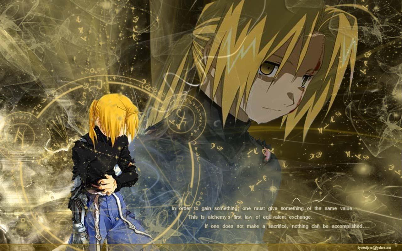 The Alchemist Quotes Wallpaper Fullmetal Alchemist Bluebird S Illusion Zerochan Anime