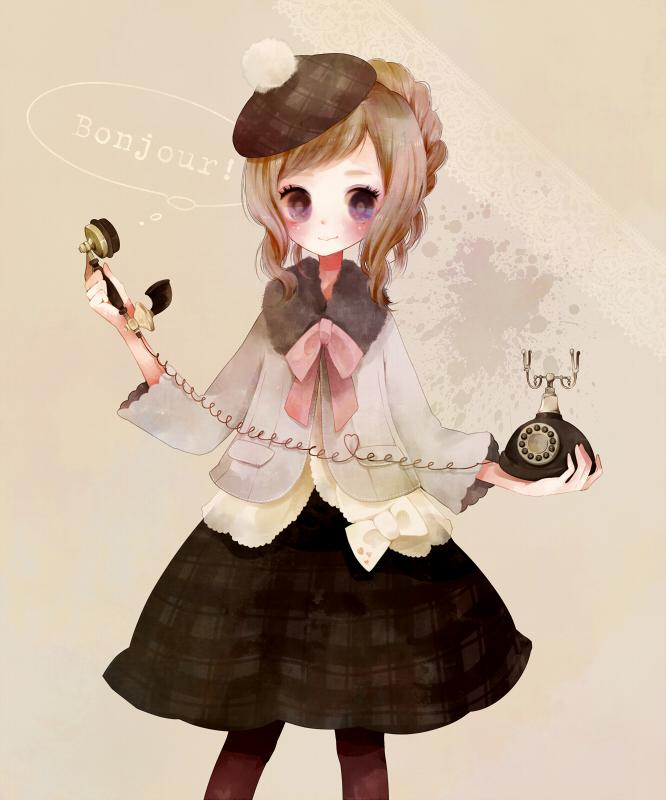 Wallpaper Neko Girl France Female Zerochan Anime Image Board