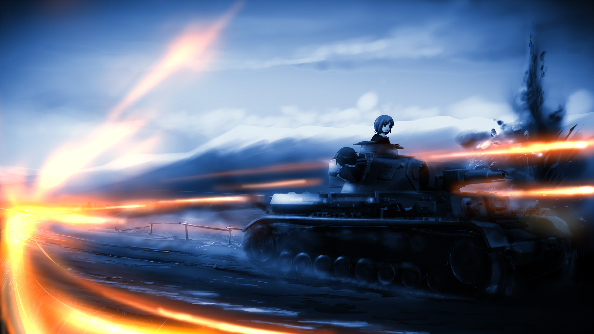 Girls Und Panzer Hd Wallpaper Girls Und Panzer Hd Wallpaper 1361069 Zerochan Anime