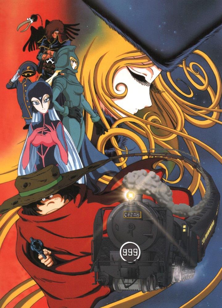 Anime Manga Wallpaper Galaxy Express 999 Leiji Matsumoto Zerochan Anime