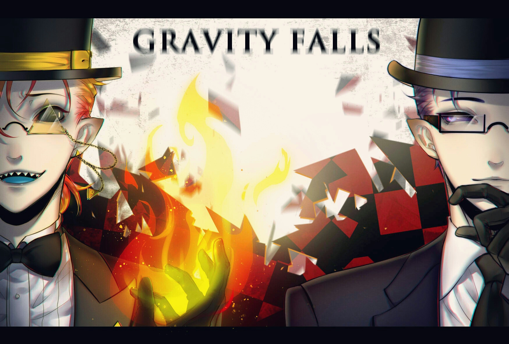 Gravity Falls Wallpaper Android Bill Cipher Gravity Falls Zerochan Anime Image Board