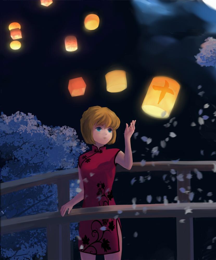 Lanterns Wallpaper Hd Haibara Ai Meitantei Conan Image 750457 Zerochan