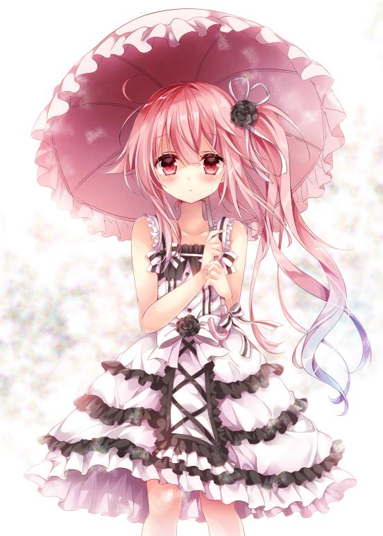 Sad Girl With Rose Wallpaper Harusame Kantai Collection 2030841 Zerochan