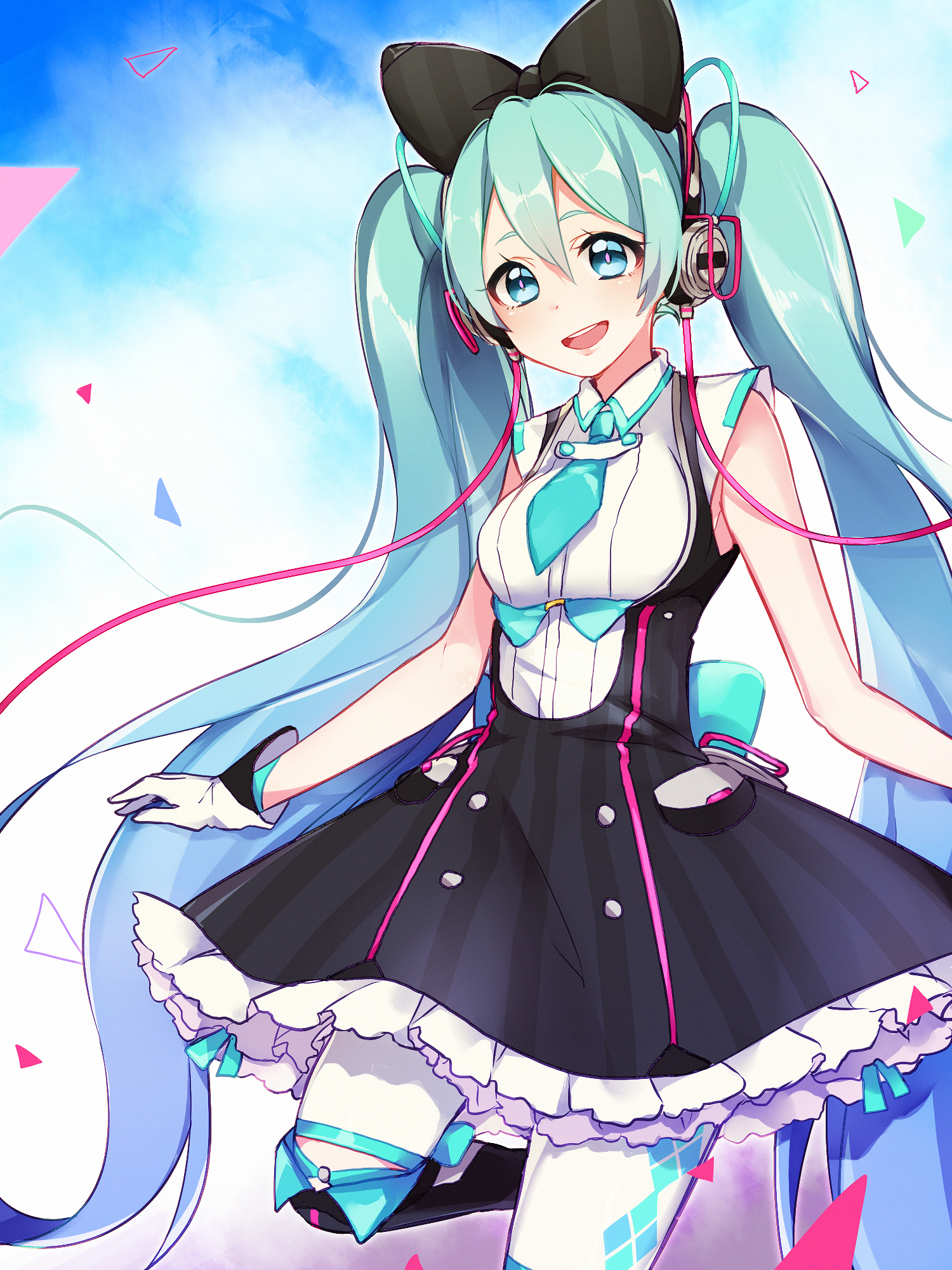 Girl Wallpaper Full Hd For Mobile Hatsune Miku Vocaloid Mobile Wallpaper 2078973