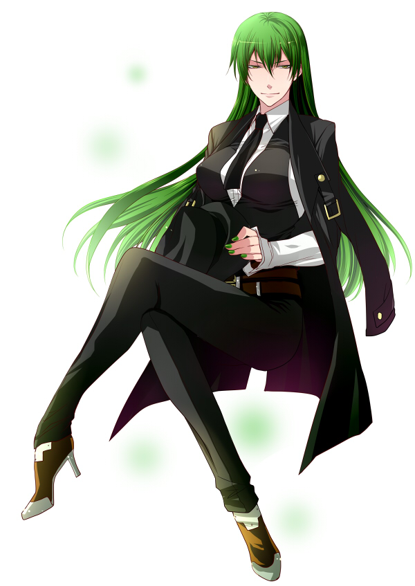 Green Anime Wallpaper Hazama Blazblue Mobile Wallpaper 1111454 Zerochan
