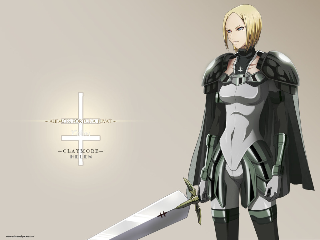 Claymore Wallpaper Hd Helen 22569 Zerochan