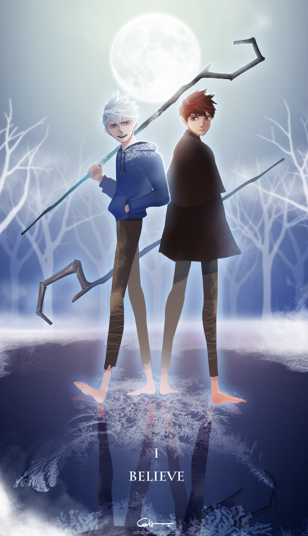 Only Black Wallpaper Jack Frost Rise Of The Guardians Page 2 Of 24