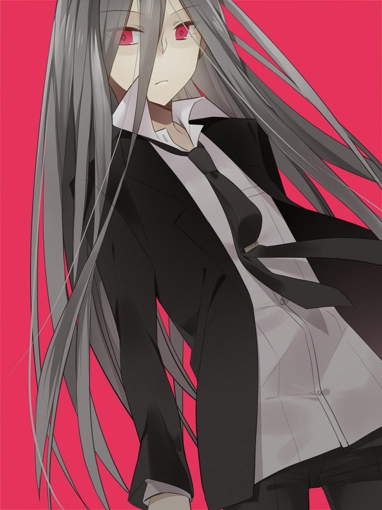 Black And Red Iphone Wallpaper Kamukura Izuru Super Danganronpa 2 Zerochan Anime