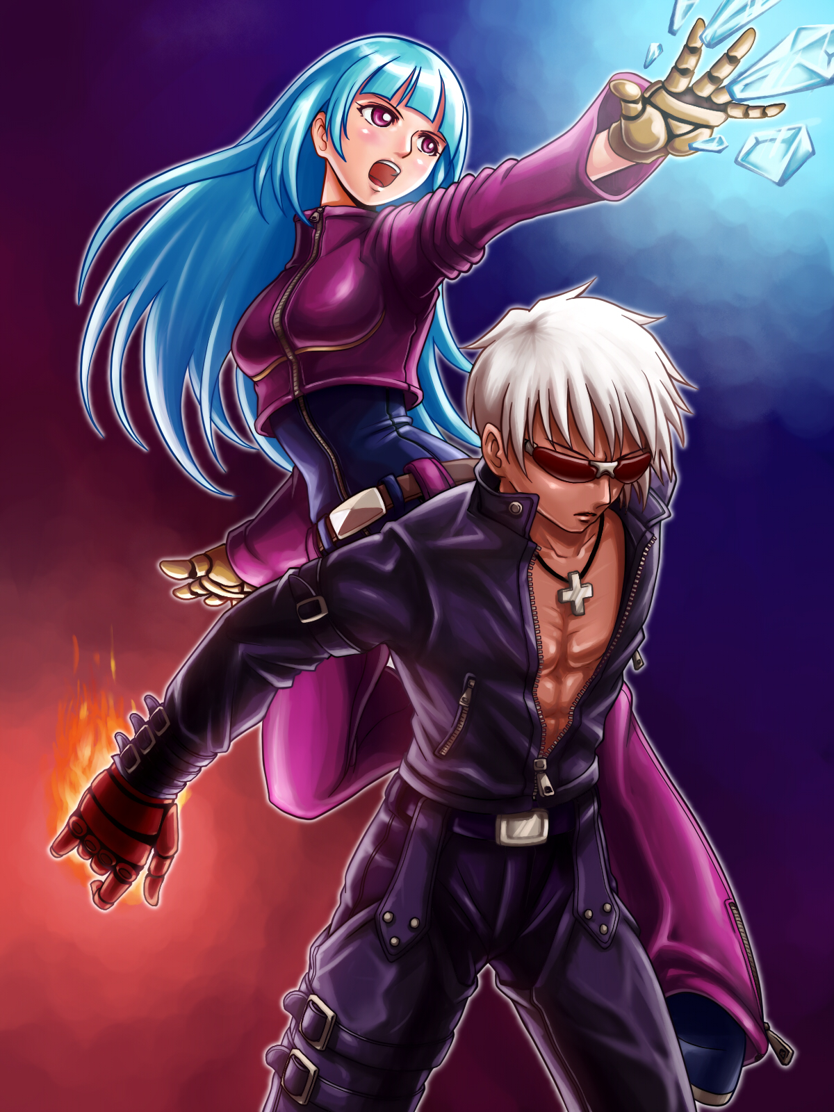 Yugioh Iphone Wallpaper King Of Fighters Image 1204875 Zerochan Anime Image Board