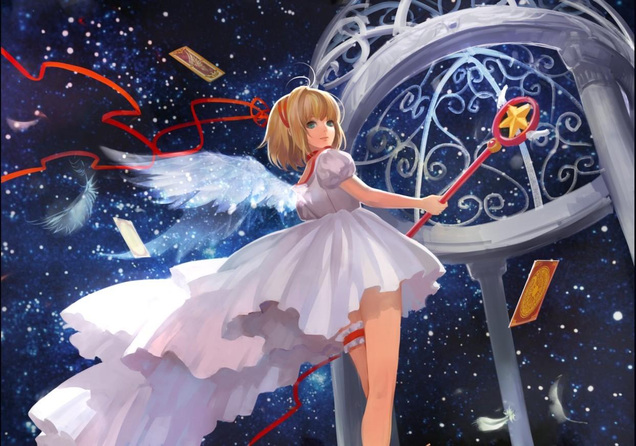 3d Beautiful Girl Wallpaper Hd Kinomoto Sakura Cardcaptor Sakura Zerochan Anime Image