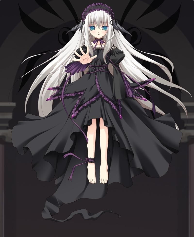 Anime Girl Wallpaper White Haired Demon Guy Lieselotte Werckmeister 75035 Zerochan