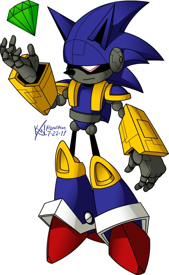 Umbra Deutsch Mecha Sonic - Sonic The Hedgehog - Zerochan Anime Image Board