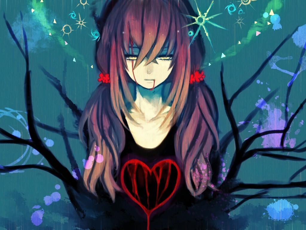 Vampire Girl Wallpaper Hd Suicide Dead Zerochan Anime Image Board